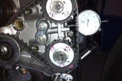 Ducati 1098R Bayliss Camshaft timing setup
